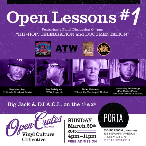 Open Crates Jersey City Sun March 29 2015
