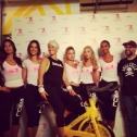 Red carpet w/ Victoria's Secret Angels & SoulCycle for Pelotonia 2014