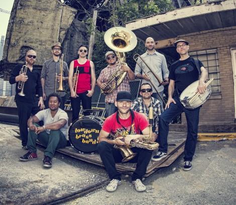 Lowdown Brass Band PhotoCredit CB Lindsay