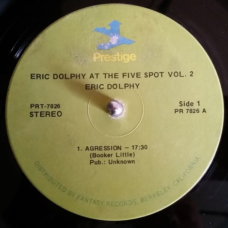 Eric Dolphy Live 5 Spot 2