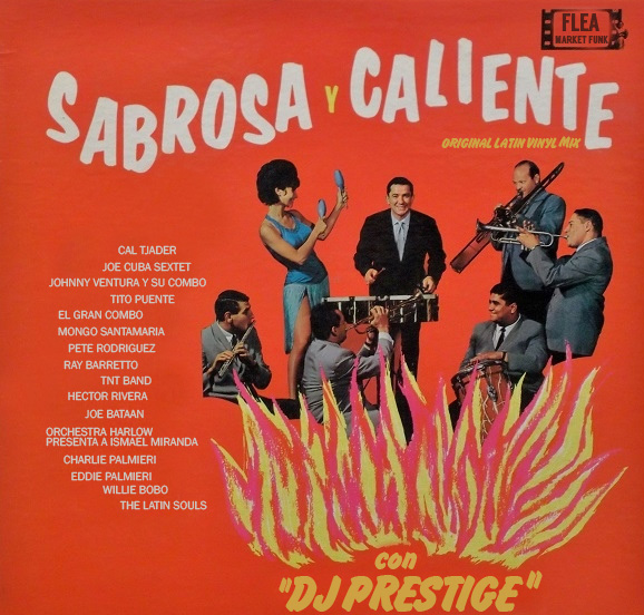 Sabrosa Y Caliente Mix Cover
