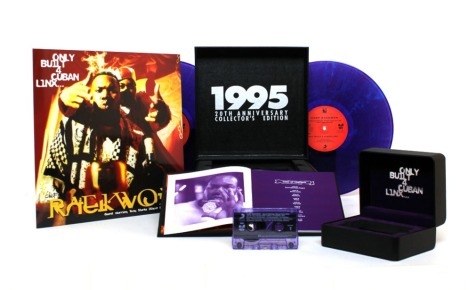 Raekwon Purple tape watch box deluxe