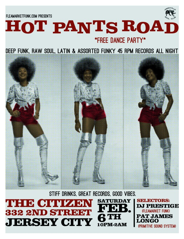 Hot Pants Road Contrast