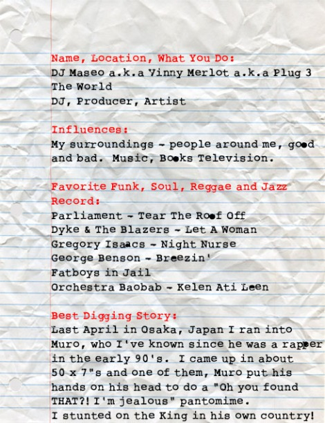 DJ Maseo Big Ups Page 1
