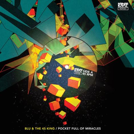 Blu 45 King Cover