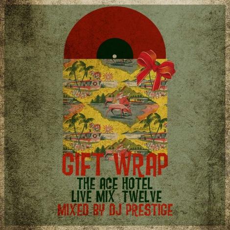 Bring That Beat Back Gift Wrap Christmas Mix Flea