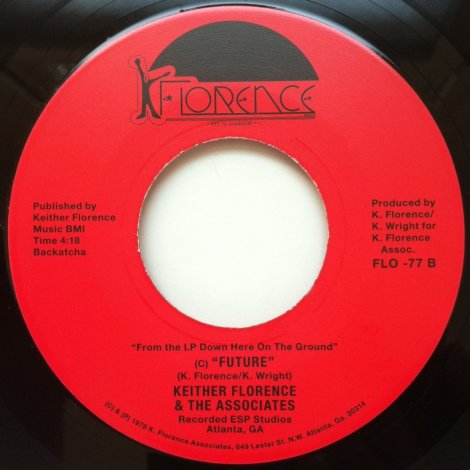 Keither Florence & The Associates – Free b/w Future | Flea