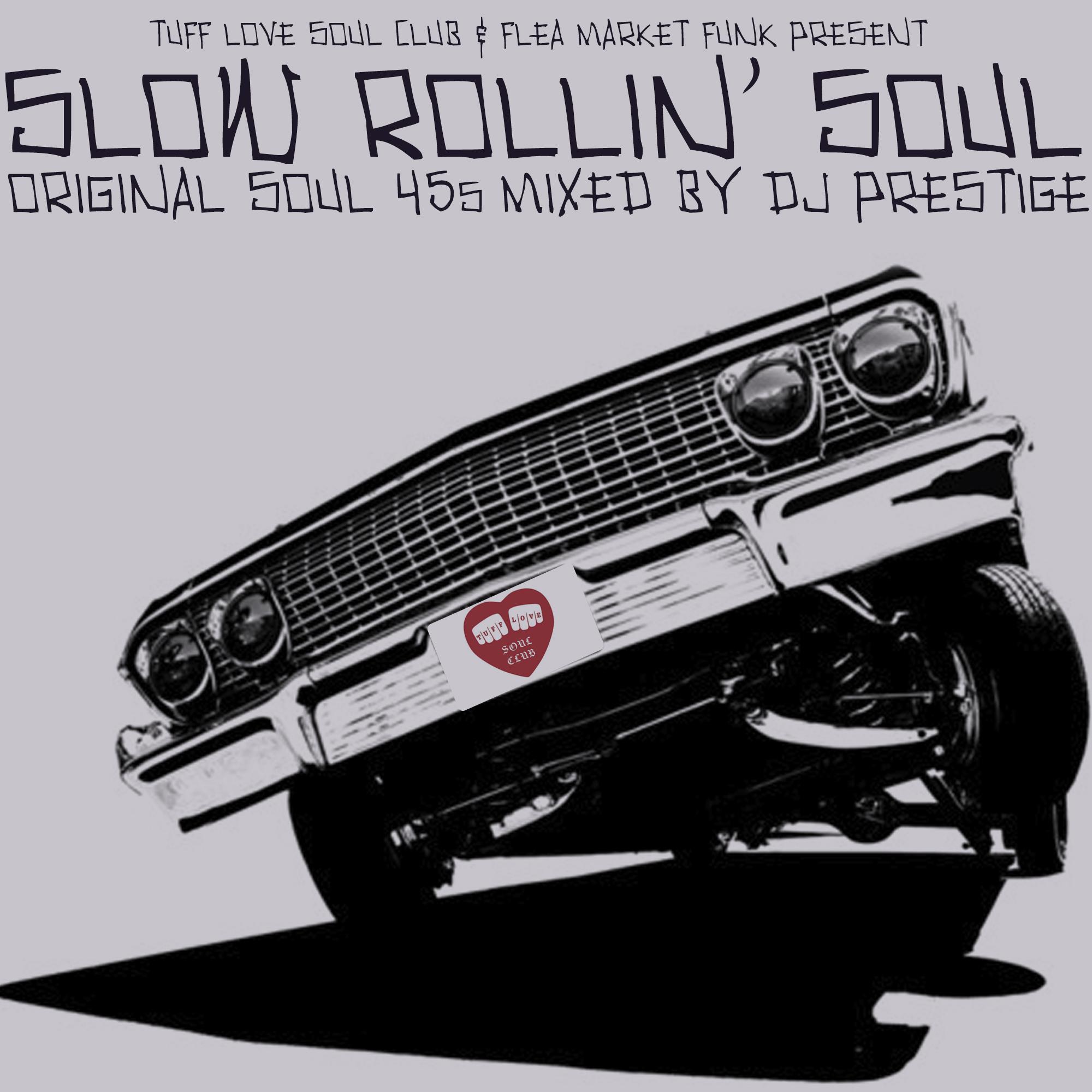 Slow Rolling Soul Cover Draft | Flea Market Funk