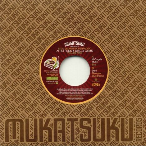 Mukatsuku Presents Afro Funk & Disco Gems Volume Nine | Flea Market Funk